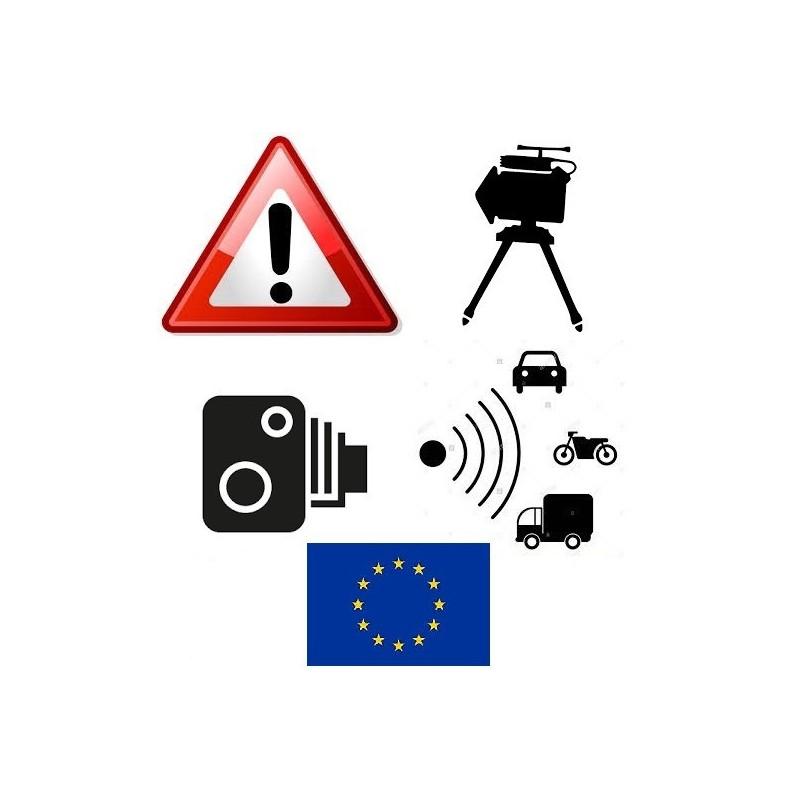 Mise à jour zones de danger France / belgique