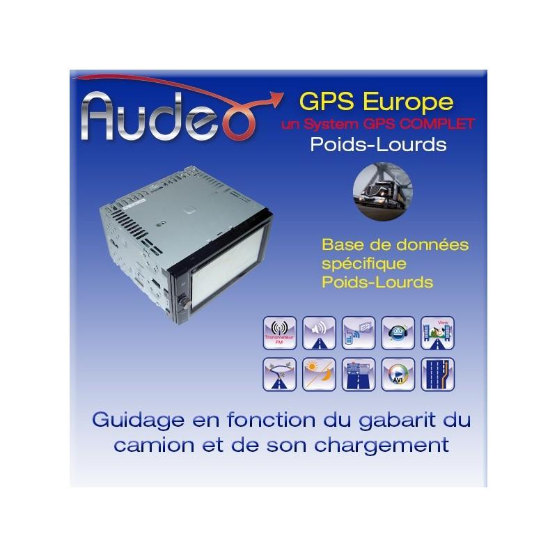 GPS Gi-612 double din Poids-lourds