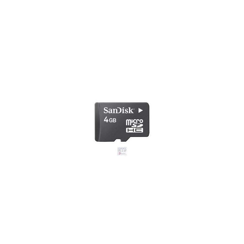 "Carte micro SD 4 GB pour GPS ""Audeo"""