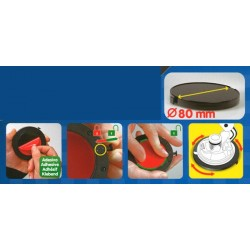 Adhesive kit for GPS suction cup