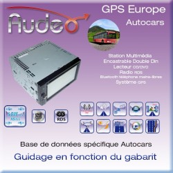 GPS AUDEO GI-612 DDin