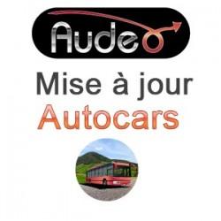 Mise à jour europe de l'ouest Autocars