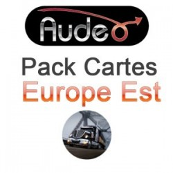 Pack carte Europe  l'est